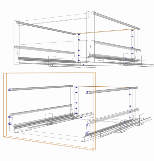 Vero Standard Drawer